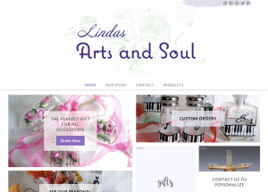Lindas Arts and Soul new website